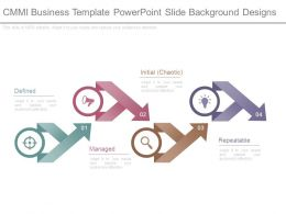 Cmmi Business Template Powerpoint Slide Background Designs