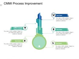 CMMI Process Improvement Ppt Powerpoint Presentation Infographics Shapes Cpb