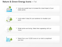 Cn Four Text Icons For Environmental Safety And Green Energy Ppt Icons Graphics