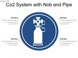 Co2 System With Nob And Pipe