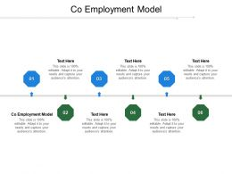 Co Employment Model Ppt Powerpoint Presentation Infographic Template Format Cpb