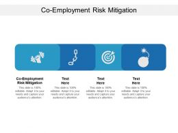 Co Employment Risk Mitigation Ppt Powerpoint Presentation Layouts Styles Cpb