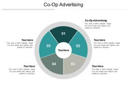 Co Op Advertising Ppt Powerpoint Presentation Ideas Graphics Cpb