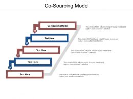 Co Sourcing Model Ppt Powerpoint Presentation Outline Design Ideas Cpb