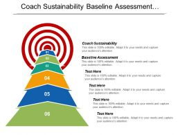 Coach Sustainability Baseline Assessment Foundation Workshop Implement Organizational Health