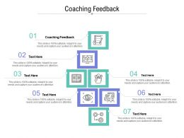 Coaching Feedback Ppt Powerpoint Presentation Icon Layout Ideas Cpb
