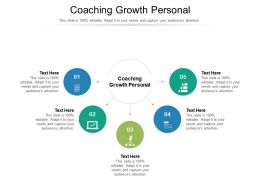 Coaching Growth Personal Ppt Powerpoint Presentation Gallery Graphic Tips Cpb