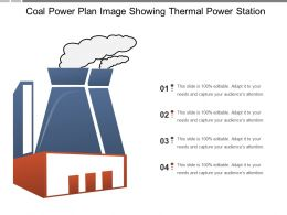 Coal Power Plan Image Showing Thermal Power Station