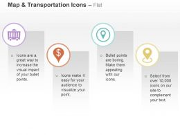Coal Trolley Finance Matter Business Location Indication Ppt Icons Graphics