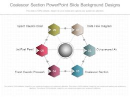 Coalescer Section Powerpoint Slide Background Designs