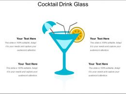 Cocktail Drink Glass