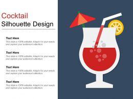 Cocktail Silhouette Design