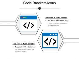 Code Brackets Icons