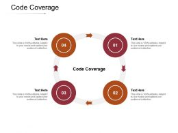 Code Coverage Ppt Powerpoint Presentation Pictures Introduction Cpb