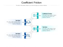 Coefficient Friction Ppt Powerpoint Presentation Ideas Elements Cpb