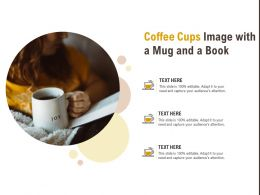 Coffee Cups Image With A Mug And A Book