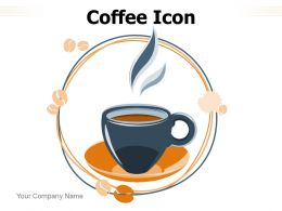 Coffee Icon Maker Location Pointer Serve Hot