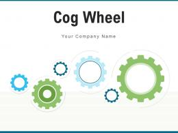 Cog Wheel Business Communicate Marketing Product Planning Process