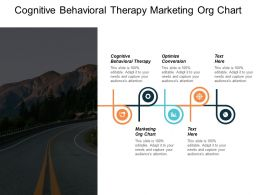 Cognitive Behavioural Therapy Marketing Org Chart Optimize Conversion Cpb