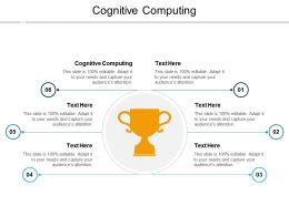 Cognitive Computing Ppt Powerpoint Presentation Model Graphics Design Cpb