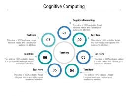 Cognitive Computing Ppt Powerpoint Presentation Styles Cpb