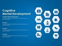 Cognitive Mental Development Ppt Powerpoint Presentation Infographics Backgrounds