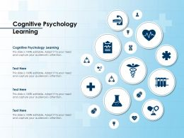 Cognitive Psychology Learning Ppt Powerpoint Presentation Ideas Picture
