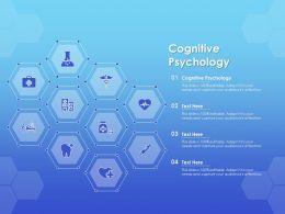 Cognitive Psychology Ppt Powerpoint Presentation Professional Samples