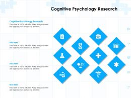 Cognitive Psychology Research Ppt Powerpoint Presentation Infographics Guide