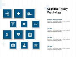 Cognitive Theory Psychology Ppt Powerpoint Presentation Inspiration