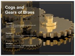 Cogs And Gears Of Brass