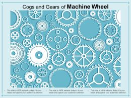 Cogs And Gears Of Machine Wheel