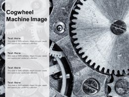 Cogwheel Machine Image