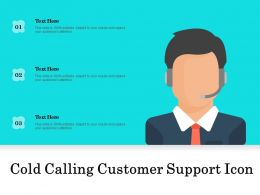 Cold Calling Customer Support Icon