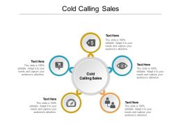 Cold Calling Sales Ppt Powerpoint Presentation Layouts Icon Cpb