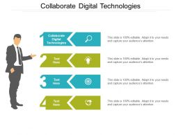 Collaborate Digital Technologies Ppt Powerpoint Presentation Professional Maker Cpb