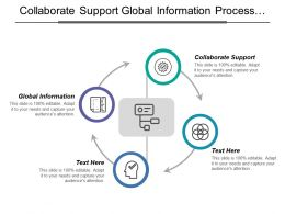 Collaborate Support Global Information Process Model Common Data Model