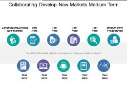 Collaborating Develop New Markets Medium Term Product Plan