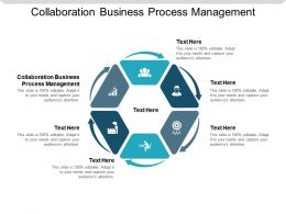 Collaboration Business Process Management Ppt Powerpoint Presentation Slides Microsoft Cpb