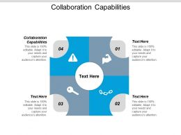 Collaboration Capabilities Ppt Powerpoint Presentation Pictures Show Cpb