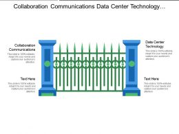 Collaboration Communications Data Center Technology Enterprise Data Analytics