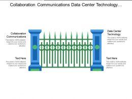 Collaboration Communications Data Center Technology Enterprise Data Analytics