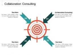 Collaboration Consulting Ppt Powerpoint Presentation Portfolio Designs Cpb