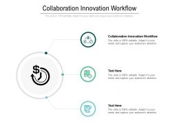 Collaboration Innovation Workflow Ppt Powerpoint Presentation Slides Diagrams Cpb
