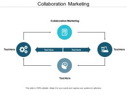 Collaboration Marketing Ppt Powerpoint Presentation File Graphics Cpb