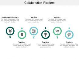 Collaboration Platform Ppt Powerpoint Presentation Pictures Templates Cpb