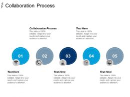Collaboration Process Ppt Powerpoint Presentation Icon Layout Cpb