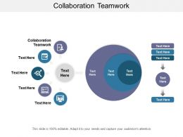 Collaboration Teamwork Ppt Powerpoint Presentation Professional Master Slide Cpb
