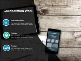 Collaboration Work Ppt Powerpoint Presentation Outline Example Cpb