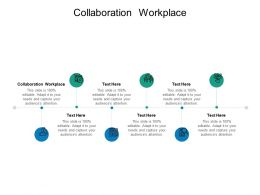 Collaboration Workplace Ppt Powerpoint Presentation Summary Layouts Cpb